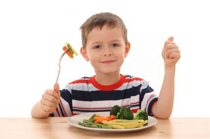 تغذیه در سنین مدرسه
