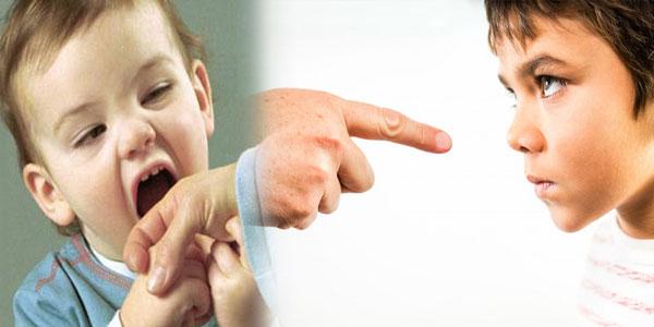 پرخاش در کودک و درمان پرخاشگری